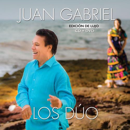 los duo - juan gabriel - disco cd + dvd - nuevo