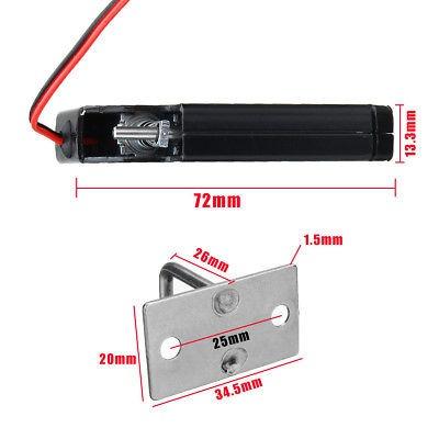 los e.e.u.u. 150kg / 330lb cerradura magnética eléctrica