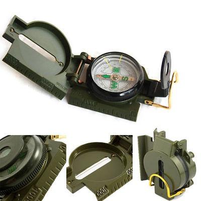 Metal Lensatic brújula militar  Senderismo ejército estilo supervivencia.,