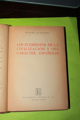 los elementos de la civilizacion y del caracter españoles