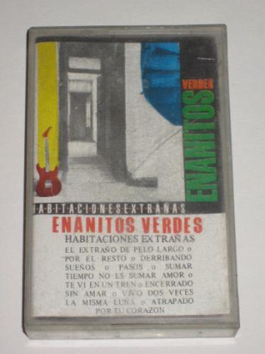 los enanitos verdes habitaciones extrañas cassette  original