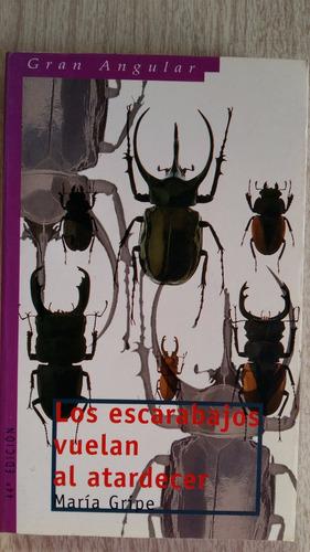 los escarabajos vuelan al atardecer maria gripe