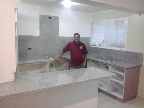 los especialistas en topes de cocinas-mármol-granito natural