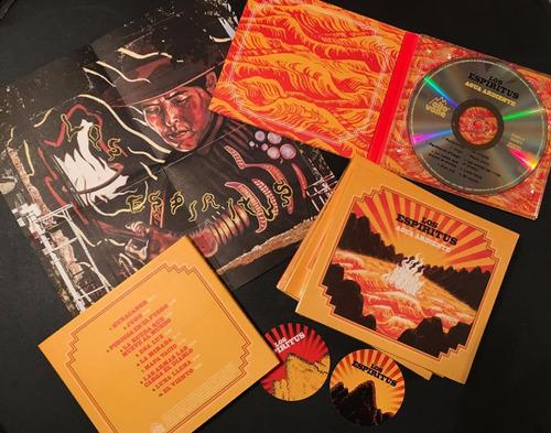los espíritus - agua ardiente cd