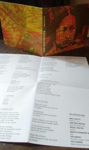 los espiritus - gratitud (cd)