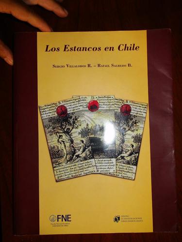 los estancos en chile - sergio villobos y rafael sagredo - 2