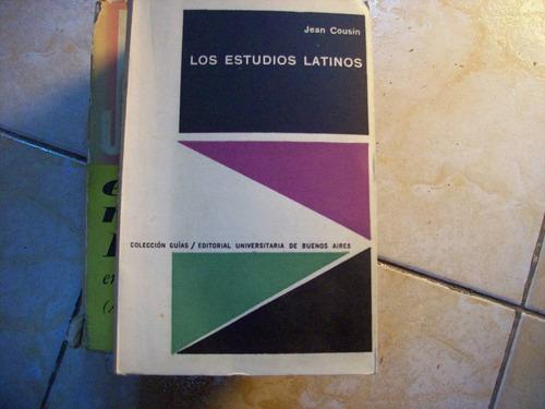los estudios latinos por jean cousin