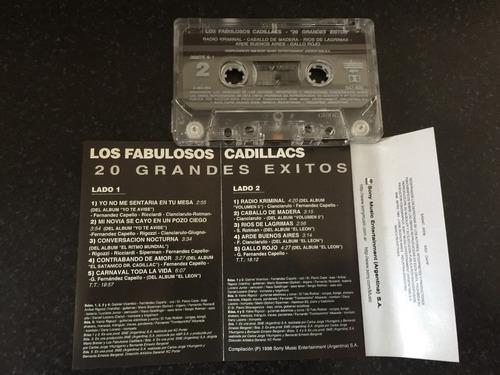 los fabulosos cadillacs 20 grandes exitos n1 cassette