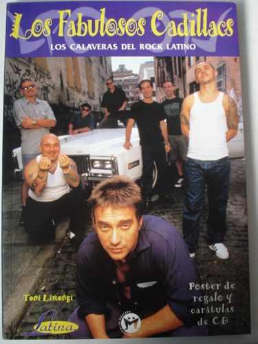 los fabulosos cadillacs. incluye poster y carátulas de cd