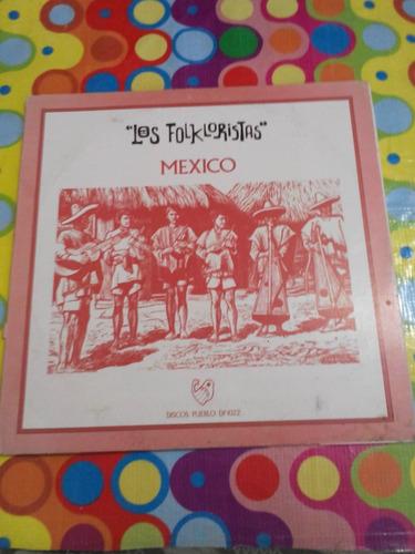 los folkloristas lp  mexico con inser