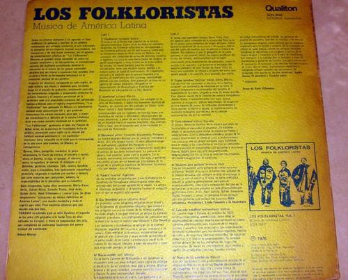 los folkloristas musica de america latina vol 2 lp arg