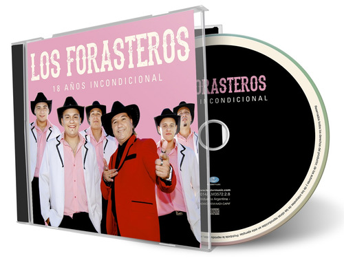 los forasteros 18 años incondicional - cd