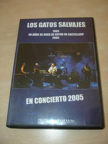 los gatos salvajes en concierto 2005 dvd argentino