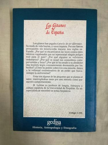 los gitanos de españa-bernard leblon-gedisa