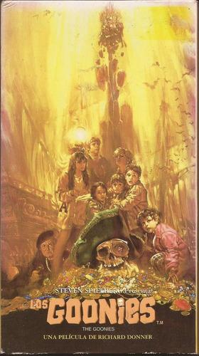 los goonies (1985)  en vhs. unico en su venta