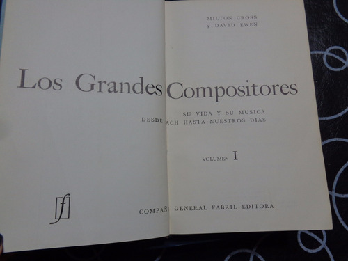 los grandes compositores - 3 tomos