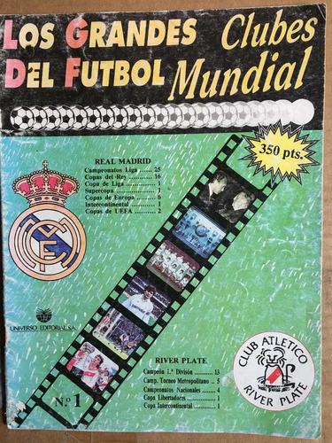 los grandes del fútbol, fasc 1, real madrid, river plate