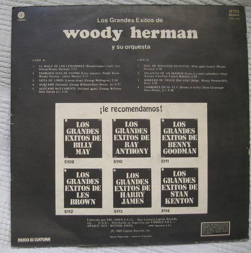 los grandes éxitos de woody herman (capitol 17123)