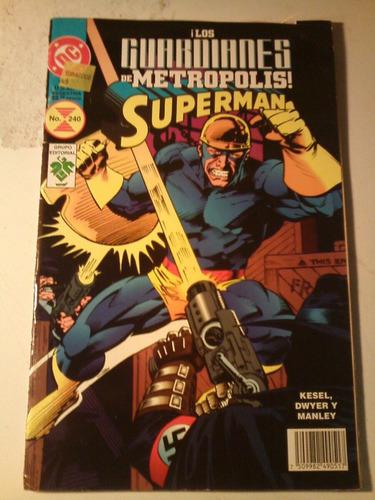 los guardianes de metropolis superman exel estado