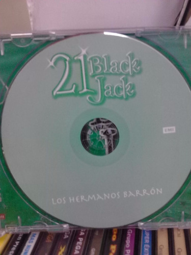 los hermanos barrón - 21 black jack (cd original)