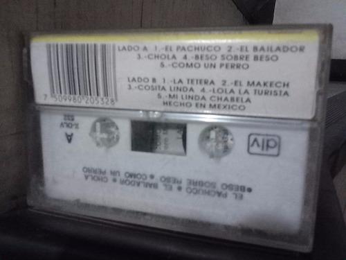 los hermanos barrón - el pachuco (casete original)