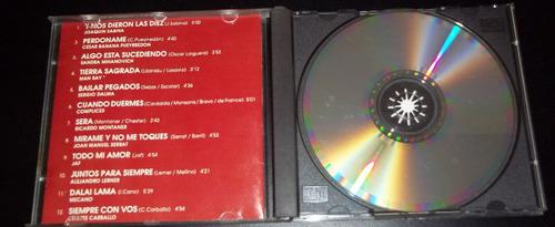 los hits de la 100 - jaf sergio dalma sabina serrat cd !