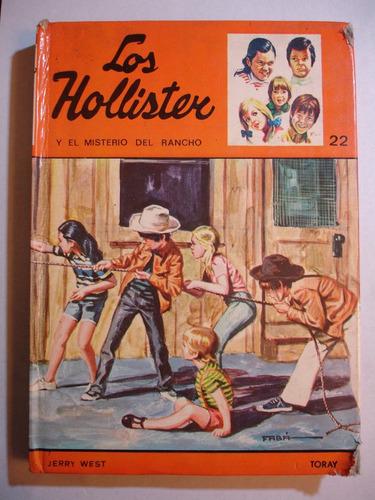 los hollister y el misterio del rancho jerry west ed. toray