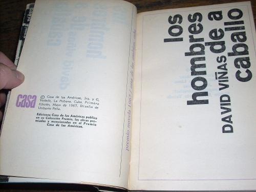 los hombres de a caballo david viñas 1a edicion 1967