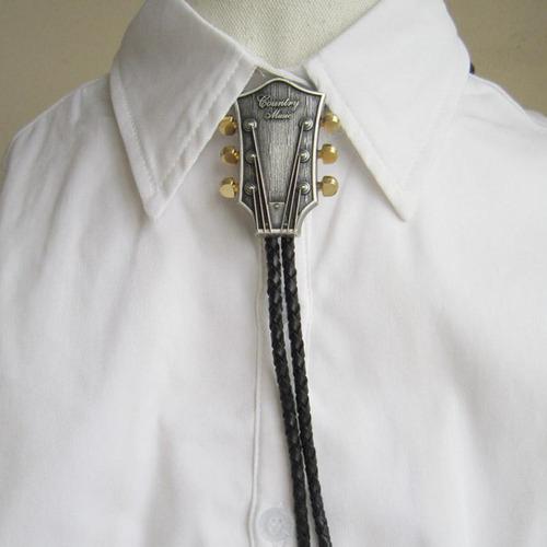 los hombres de la moda bolo corbata de vaquero masculino acc