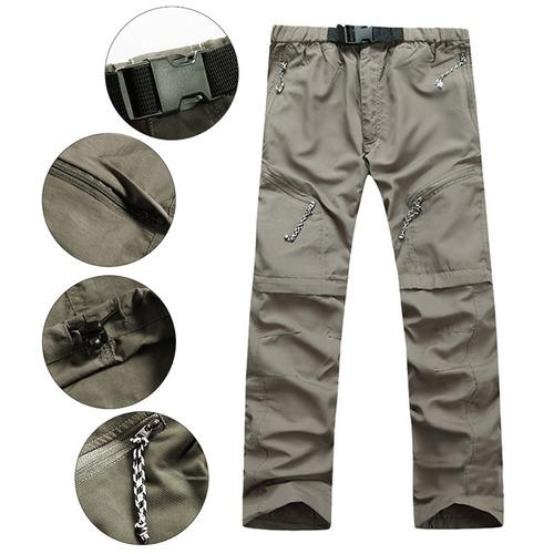 los hombres hemiks superan rápidamente uv pantalones protec