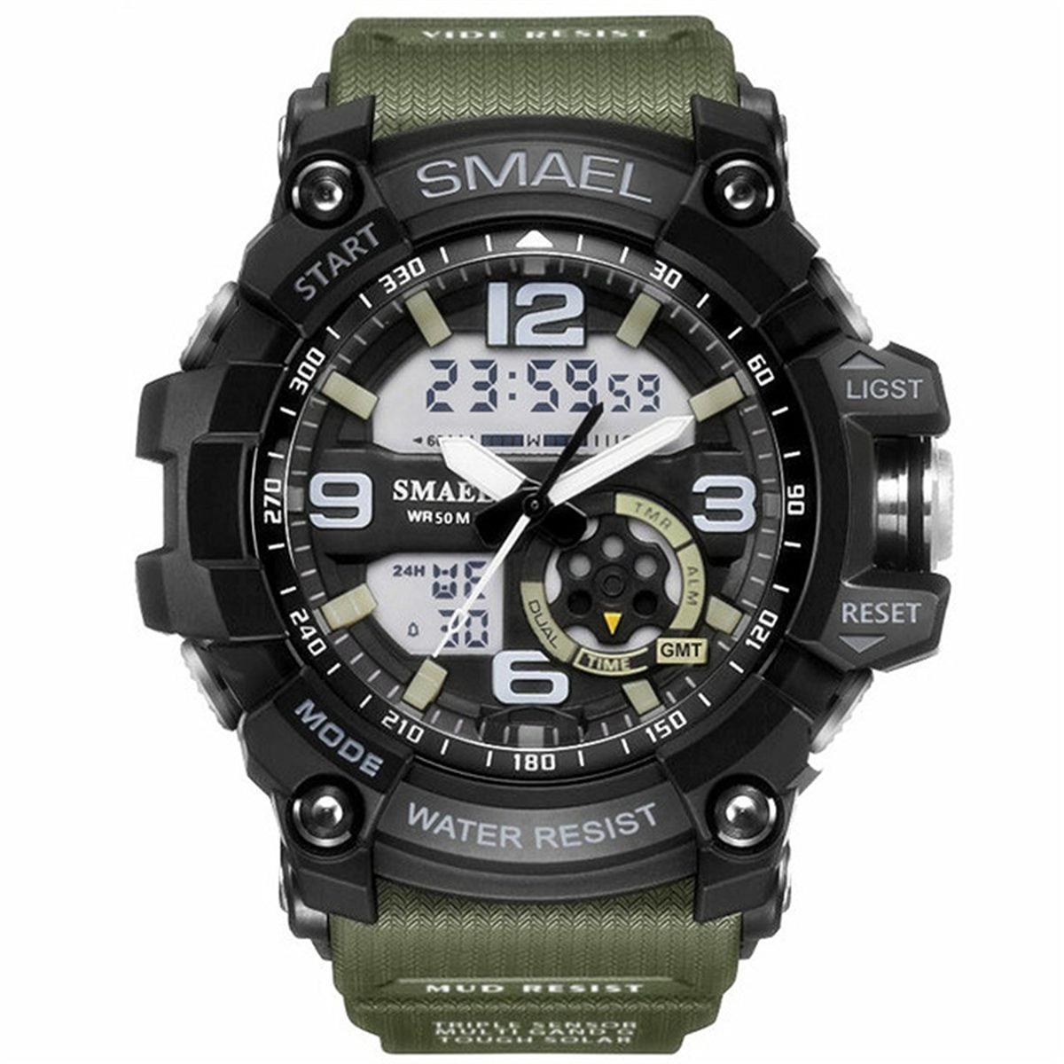 2b11f6450772 los hombres relojes deportivos militares reloj fecha cronóme. Cargando zoom.