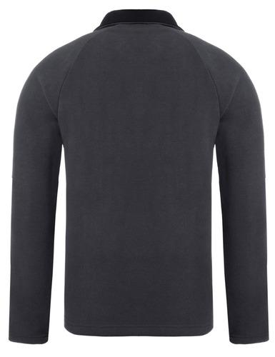 los hombres stand cuello raglan manga larga chaqueta suéter