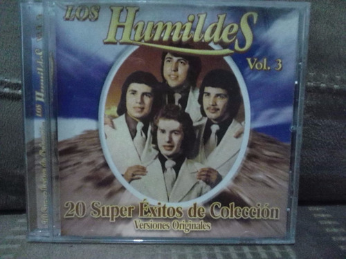 los humildes - 20 super exitos vol. 3 (cd original)
