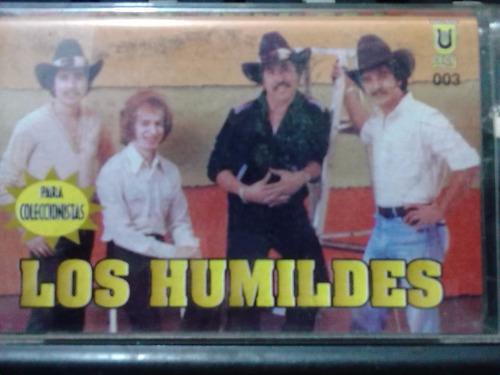 los humildes - borrare tus besos (casete original)