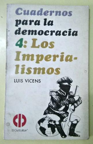 los imperialismo luis vicens