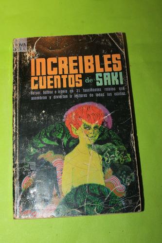 los increibles cuentos de saki
