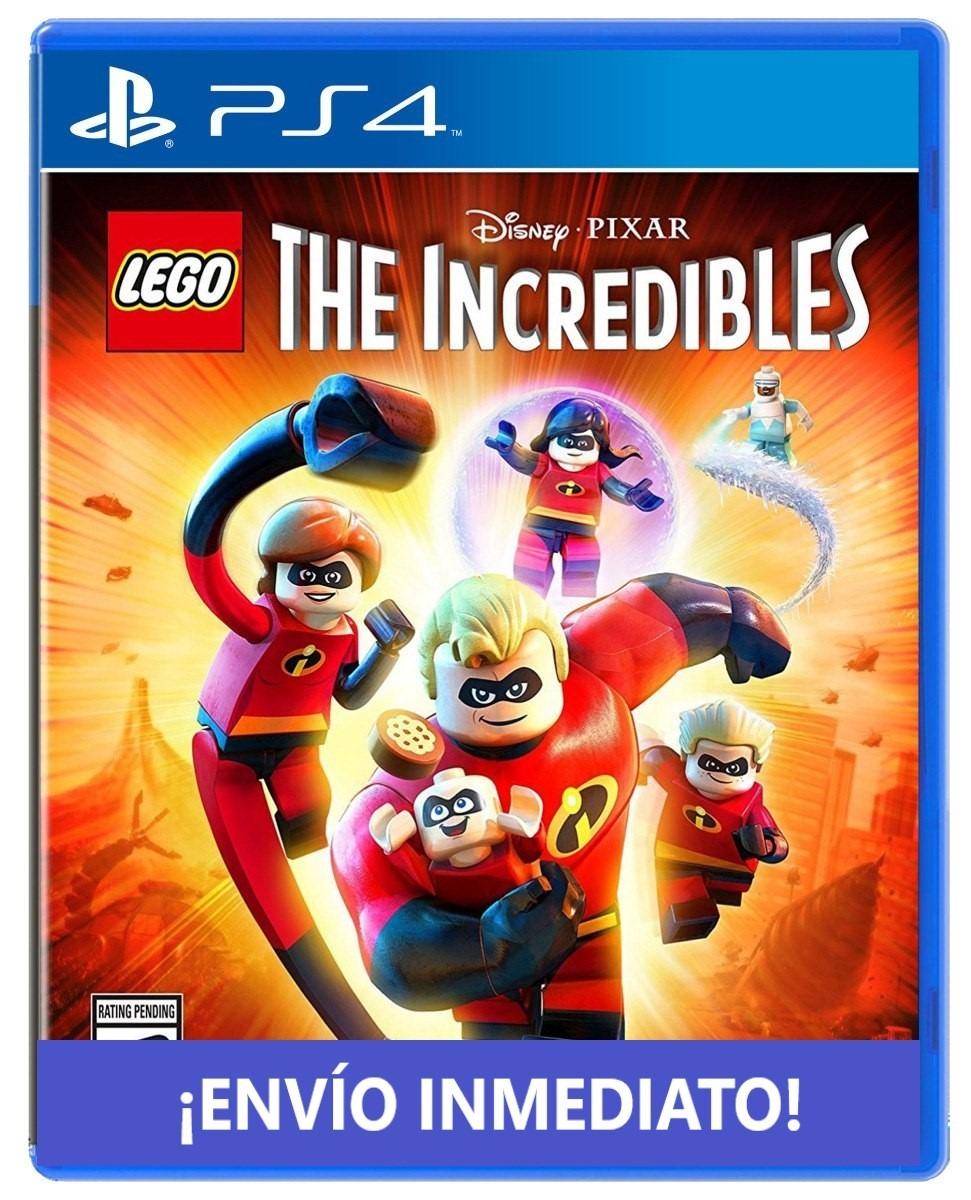 Los Increibles Lego Ps4 Juego Playstation 4 Digital Full 1 990
