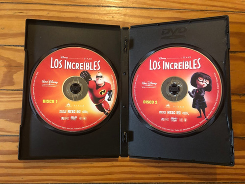 los increibles película dvd original como nueva oferta 3x2
