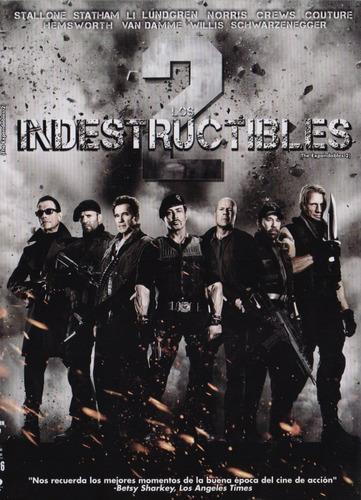 los indestructibles 2 dos pelicula dvd