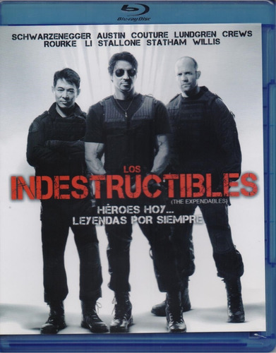 los indestructibles the expendables pelicula blu-ray