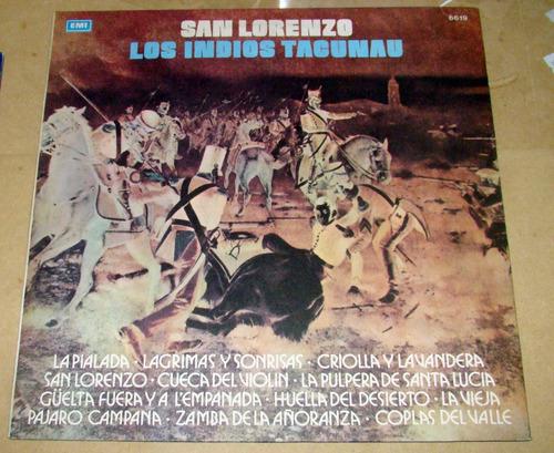 los indios tacunau san lorenzo lp argentino