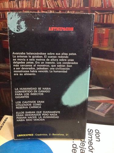 los insectos dominantes. gilles thomas. novela ficción