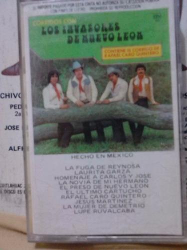 los invasores de n.l. - rafael caro quintero (cass original)