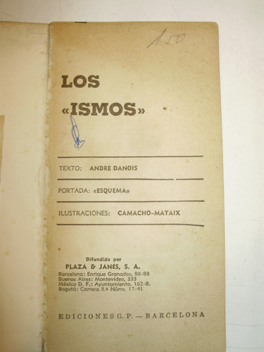 los ismos andre danois plaza & janes esp 1962