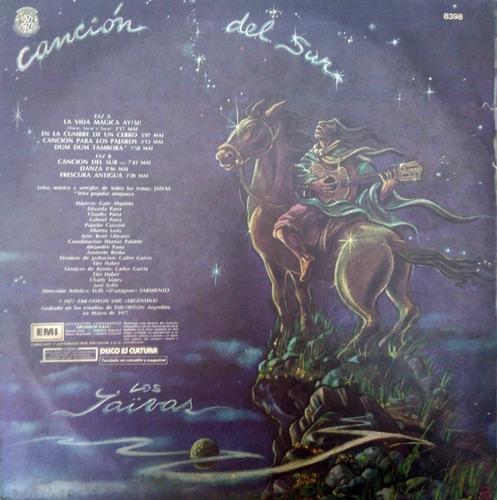 los jaivas - canción del sur (vinilo)