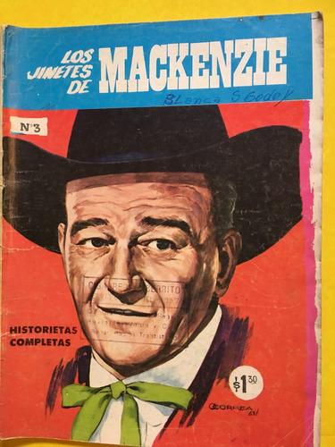 los jinetes de mackenzie, revista, historietas del oeste