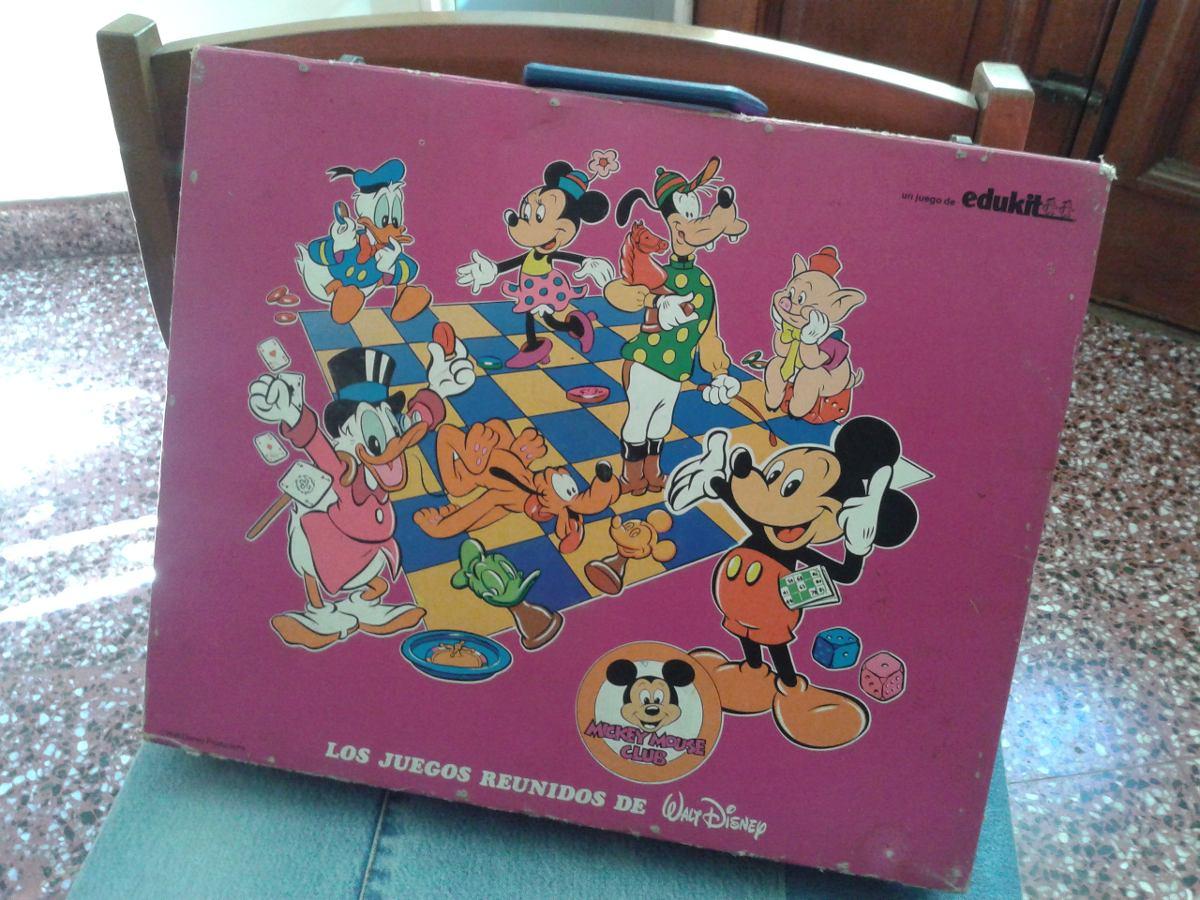 Los Juegos Reunidos De Whalt Disney Edukit 250 00 En Mercado Libre