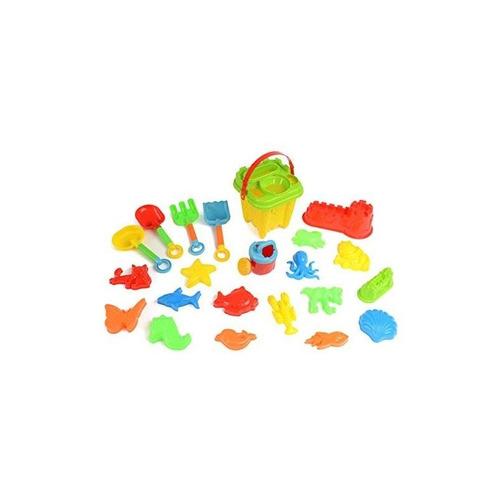 los juguetes de la playa de los niños 23pc fijaron, juguetes