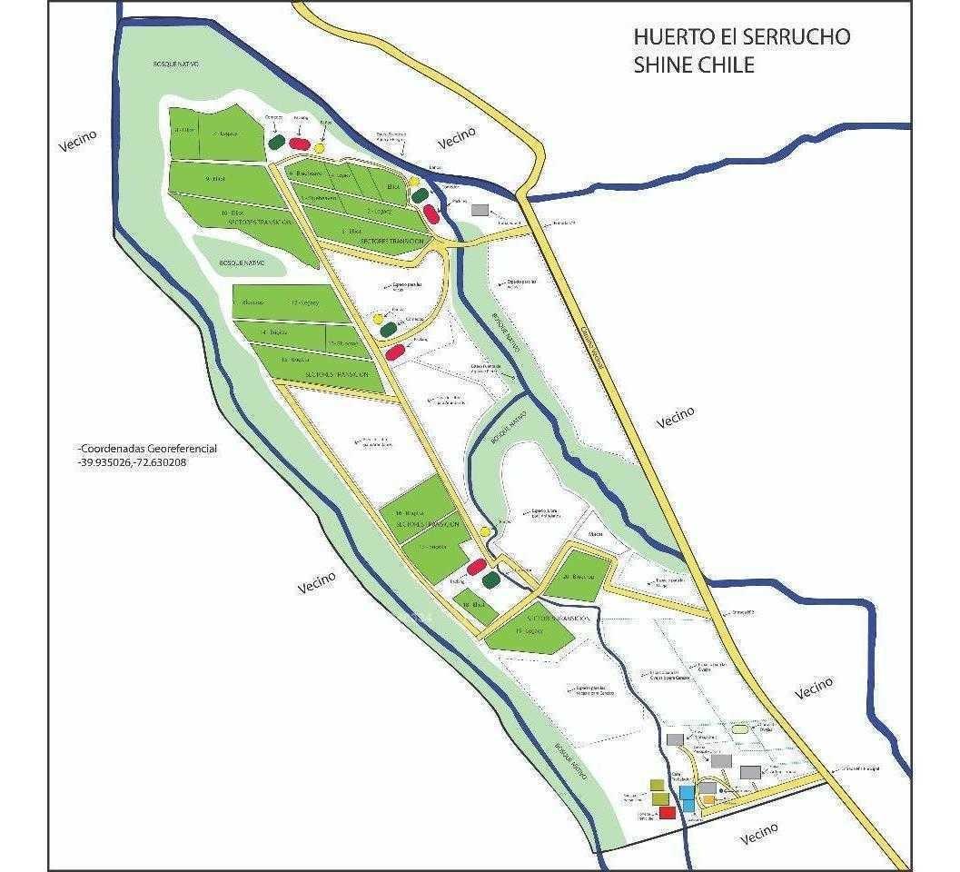 los lagos camino a futrono, ruta t- 525 km 7