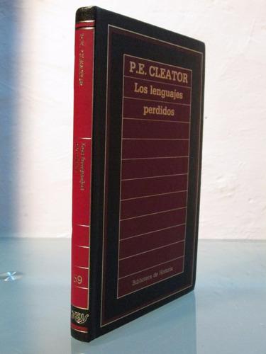 los lenguajes perdidos  p.e. cleator